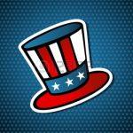 15579375-usa-elezioni-zio-sam-icona-cappello-in-stile-disegno-su-sfondo-blu-stelle-file-con-livelli-per-una-f